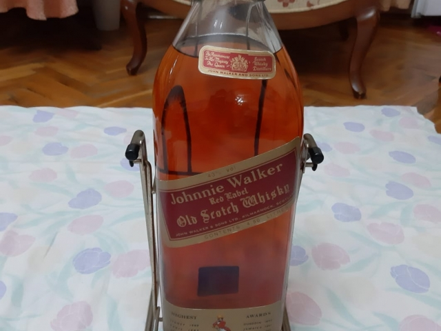 Johnnie walker red label 4.5LT 40 Yıllık